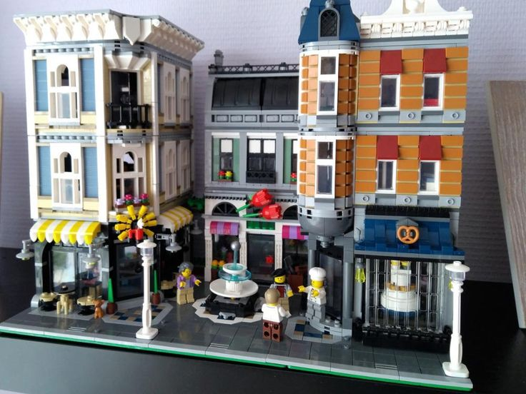 LEPIN MOC Creative Series The Assembly Square Building Blocks Educational Toys - Blocks