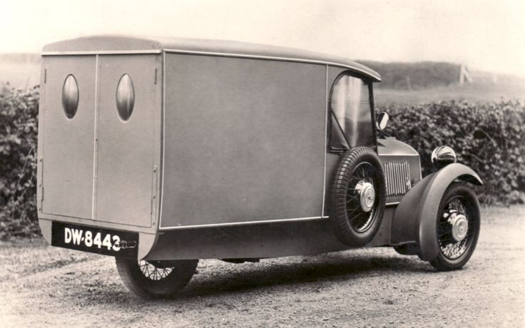 Morgan delivery van