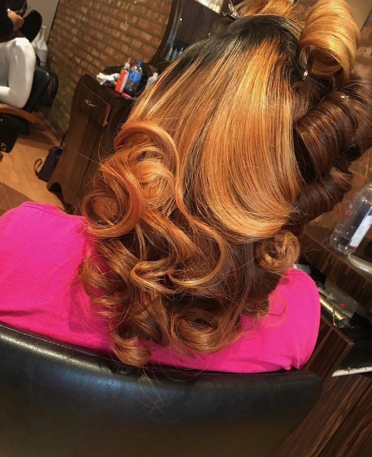 Love the styling and color. Need closures, frontals, or bundles? Please visit our website and shop now. Photo credit: @hairbymina on IG