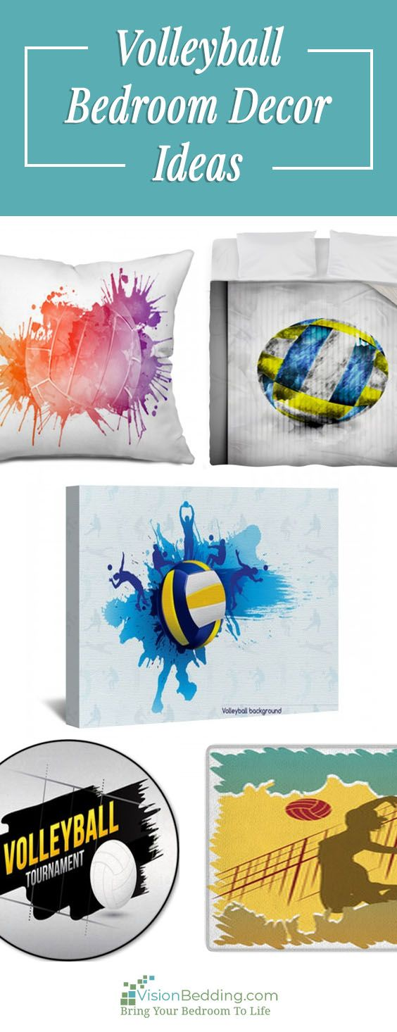 10 best Volleyball Bedroom Decor Ideas images on Pinterest