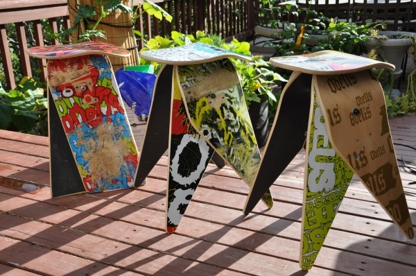 skateboards second life furniture