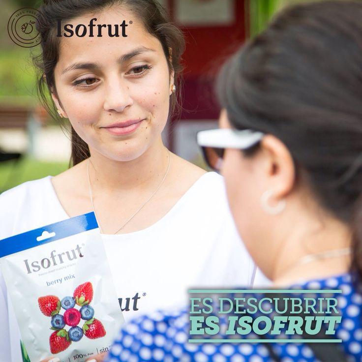 ¡Atrévete y conoce lo verdaderamente sano y nautral! #Isofrut es tu acompañante ideal entre comidas.   Y tú, ¿ya lo probaste?