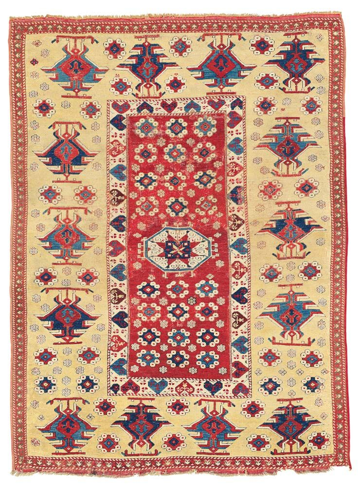 THE VOLKMANN BERGAMA RUG WEST ANATOLIA, LATE 17TH OR EARLY 18TH CENTURY