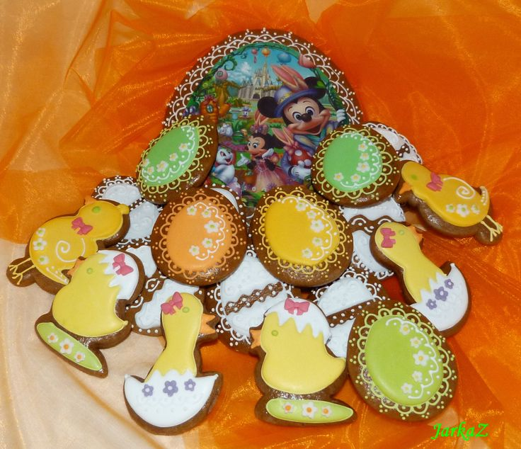 Easter gingerbread mix - veľkonočné medovníčky - mix