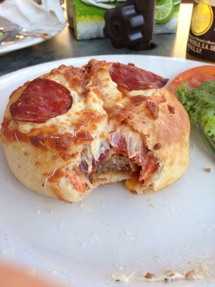 Pizza burger