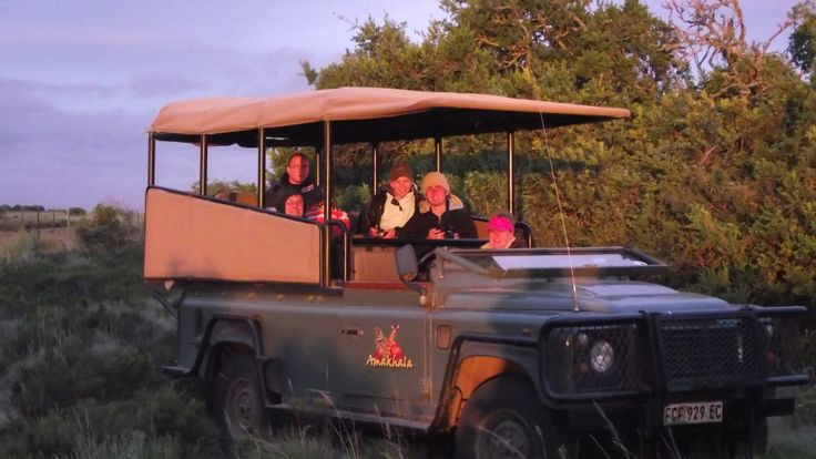 An evening game drive - no better time to view the parks residents and take in the changing colours of the landscape!