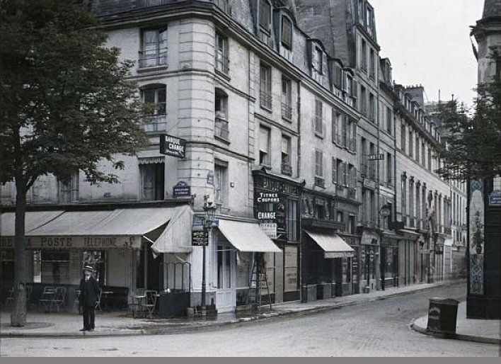 17 best images about paris 7 me d 39 antan on pinterest perspective paris and de la rue. Black Bedroom Furniture Sets. Home Design Ideas