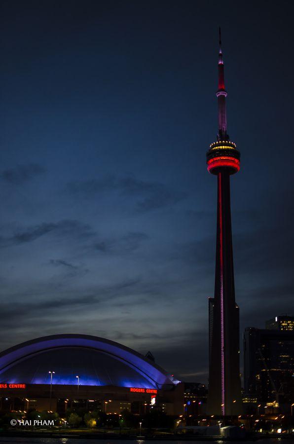 "500px / Photo ""Toronto skyline "" by Green Frog"