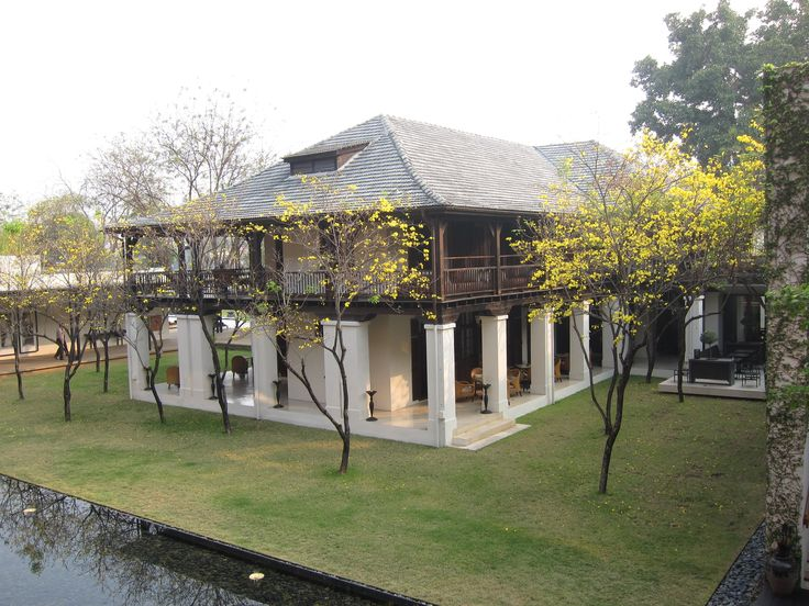 The Chedi Hotel in Chiang Mai. Hands down, the best hotel.