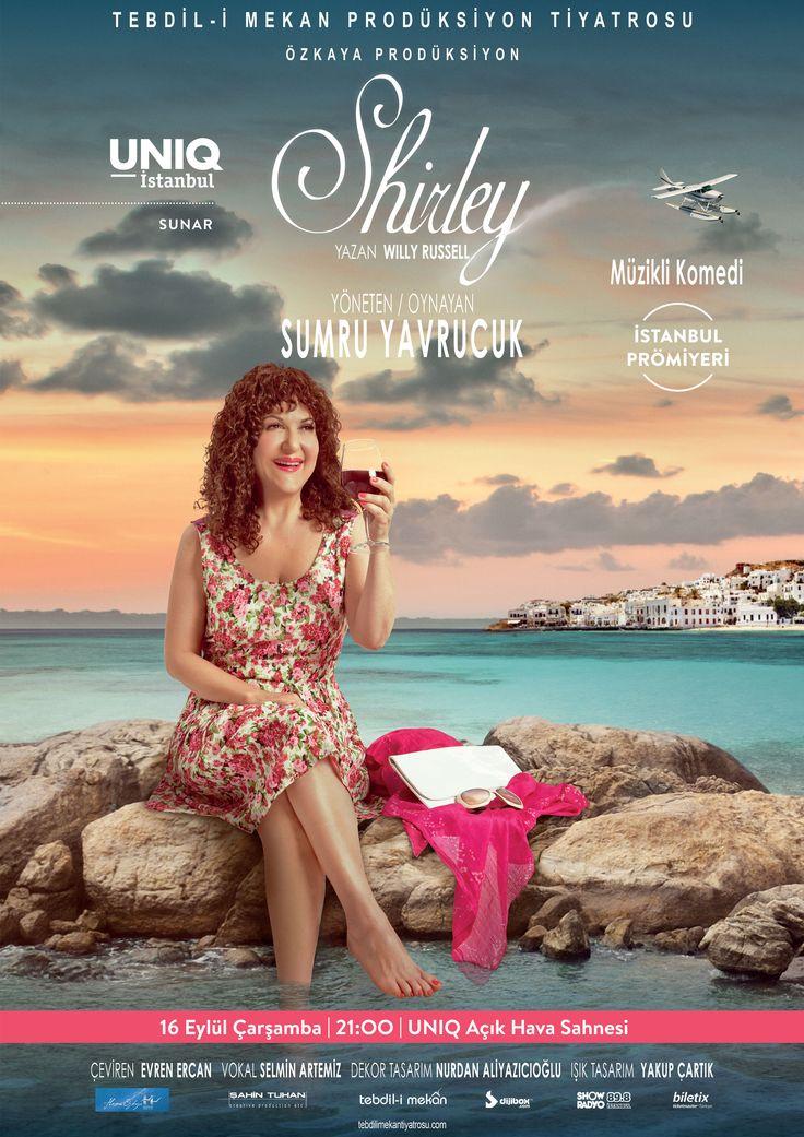 Shirley Valentine'nin öyküsü, Sumru Yavrucuk'un yorumuyla hayat buluyor.