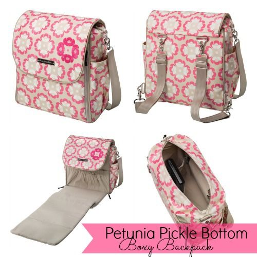 The NapTime Reviewer: Mommy Style   Petunia Pickle Bottom Diaper Bags