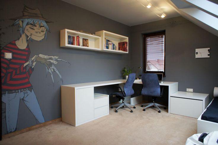 Realizacja: Pokój dla chłopca | ha-studio architektury