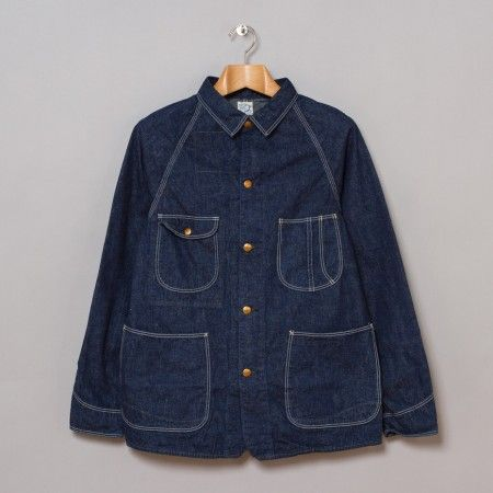 OrSlow 1950's Coverall Jacket in One Wash