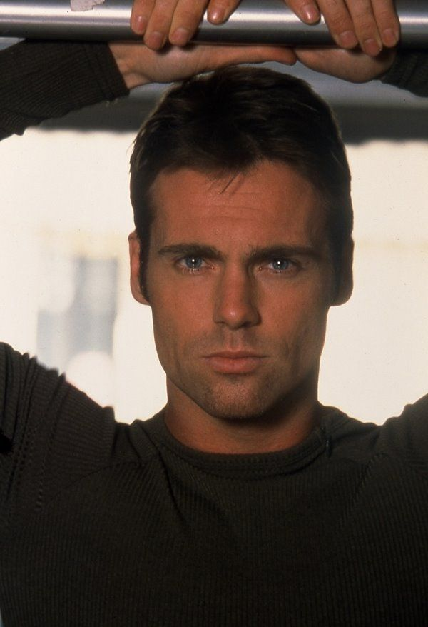 Michael Shanks, aka Dr Daniel Jackson. OK Faith, I'll give you this one - he's a cutie.