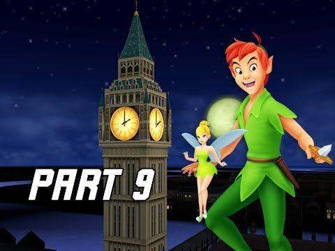 Kingdom Hearts 1.5 Walkthrough Part 9 - Peter Pan & Neverland (PS4 Let's Play)