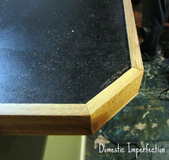 Countertop Lip : Penny Countertop Countertop, Pennies and Lips