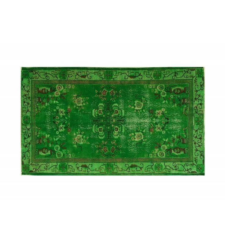 199x118. Ярко-зеленый с коричневыми деталями