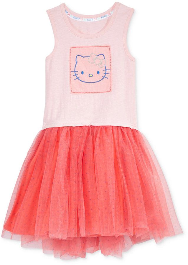 Hello Kitty Tutu Dress, Toddler & Little Girls (2T-6X) #Affiliate