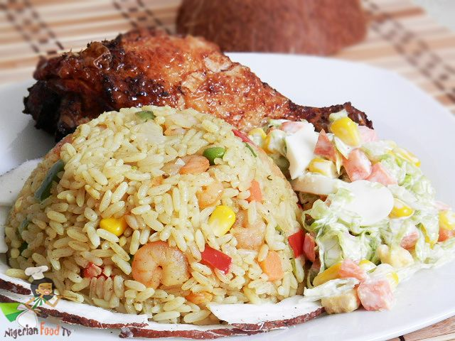 Nigerian Coconut Fried Rice