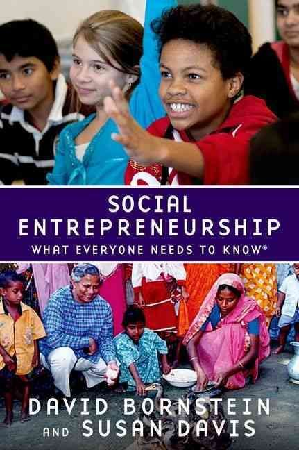In development circles, there is now widespread consensus that social entrepreneurs represent a far better mechanism to respond to needs than we have ever had before--a decentralized and emergent forc