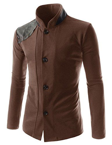 Showblanc (SBGD170) Homme Fitted Style Leather Point Semi Formal Cardigans BROWN Large(Chest 38) Showblanc http://www.amazon.com/dp/B014R6V254/ref=cm_sw_r_pi_dp_Ixgmwb00CG3HJ