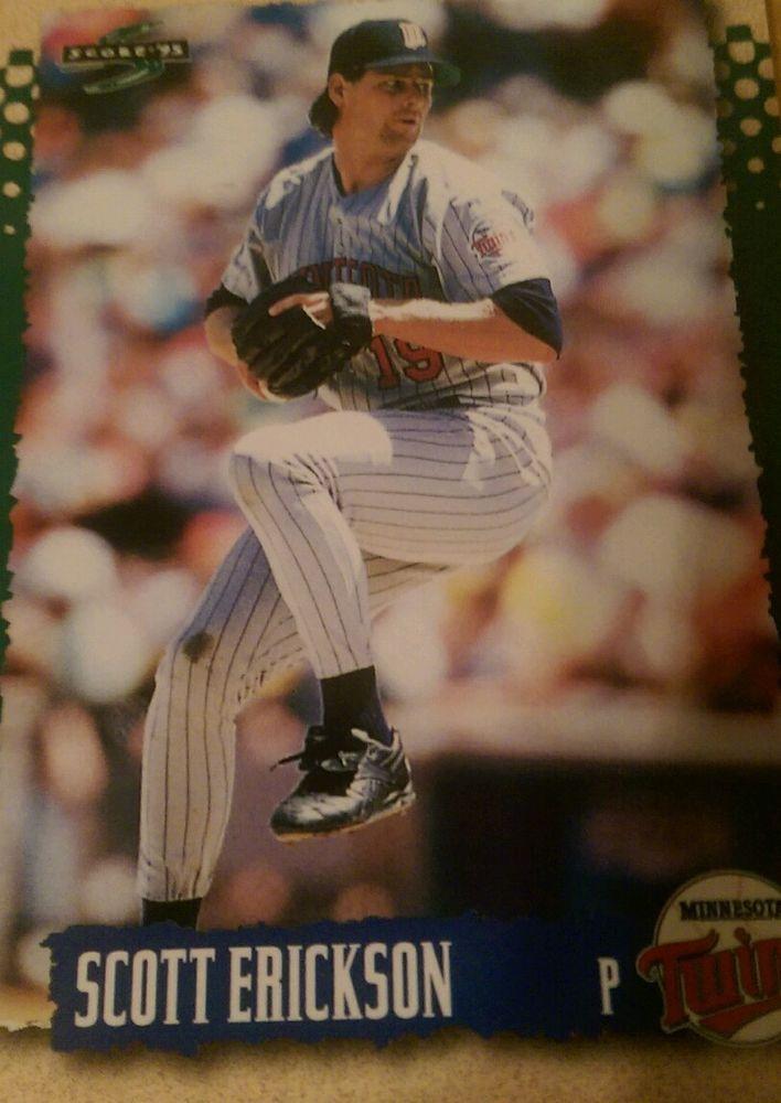 1995 Score Scott Erickson Minnesota Twins #27 Baseball Card #MinnesotaTwins