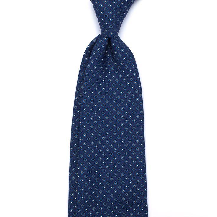 Ties On Sale, Grey Melange, Silk, 2017, one size Roda