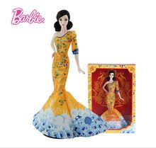 Original Barbie Limited Collection Doll BCP97 Celebrity Chinese Popuar Star Fan Bingbing Barbie Doll(China (Mainland))