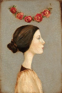 Saint Cecelia - Cassandra Christensen Barney - World-Wide-Art.com - $195.00 #CassandraBarney