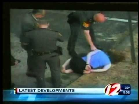 Lincoln cop caught on tape assaulting woman at Twin River