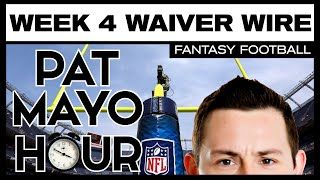 2016 Fantasy Football Week 4  Waiver Wire Pickup Rankings, Sleepers, Snap Counts