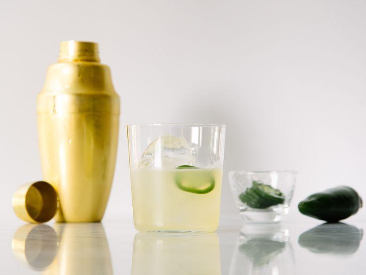 Moses' Jalapeño Skinny Margarita