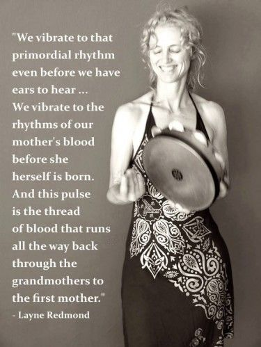 """One of my favorite books! """"When The Drummers Were Women"""" by Layne Redmond - thanks to the Transformation Goddess for this great post."""