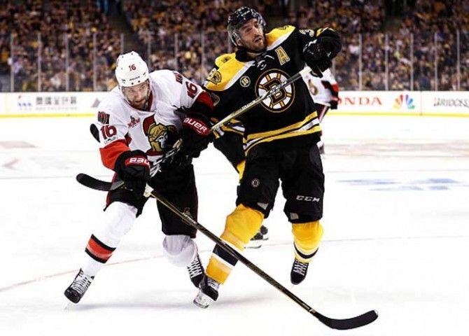 NHL Playoff Highlights: Senators' Clarke MacArthur Scores In OT For 4-2 Series Win Vs Bruins