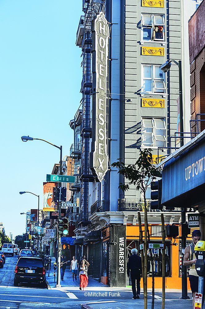 Larkin And Ellis Street In The Tenderloin District, San Francisco By Mitchell Funk www.mitchellfunk.com