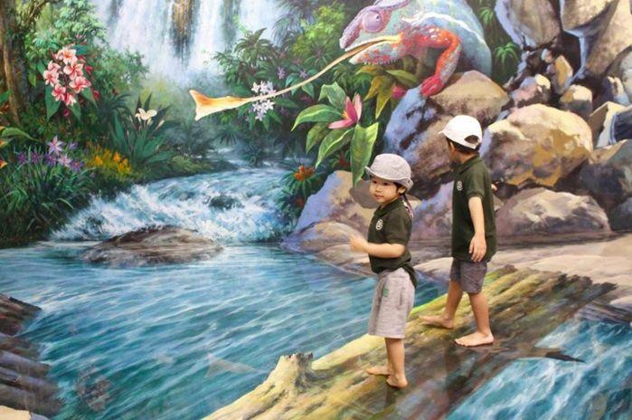 Museos para divertirse con pinturas en tercera dimensión - http://revista.pricetravel.com.mx/viajes/2015/11/20/museos-pinturas-en-tercera-dimension/