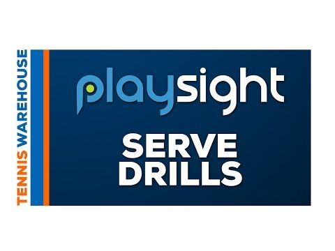 How To Improve Your Serve and Return with Playsight Court Technology - Tennis Warehouse YouTube
