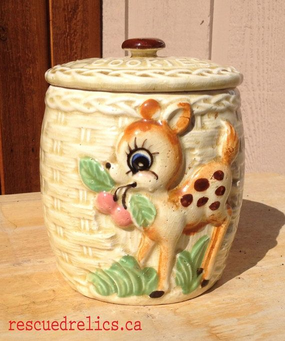 1950's Cookie Jars Magnificent 80 Best Cookie Jars Images On Pinterest  Vintage Cookies Vintage Inspiration