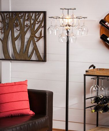 Another great find on #zulily! Wineglass Holder Floor Lamp #zulilyfinds