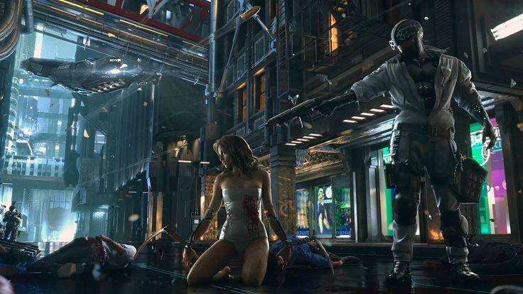 Cyberpunk 2077 – indigodecay