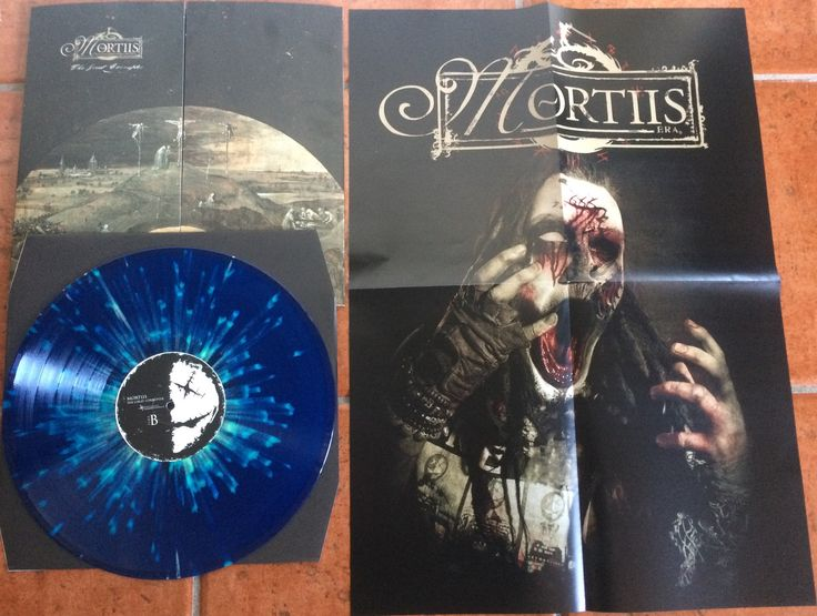 "Mortiis The Great Corrupter LP ""Swedish Erotica"" splatter vinyl. 99 copies made."