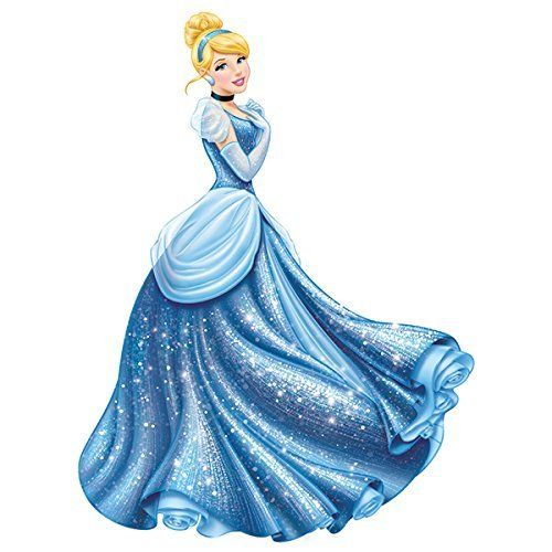 ディズニーシンデレラ プリンセスジャンボ ウォールステッカー ルームメイト(Room Mates) / Disney Princess