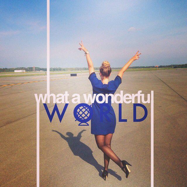 United Airlines Stewardess