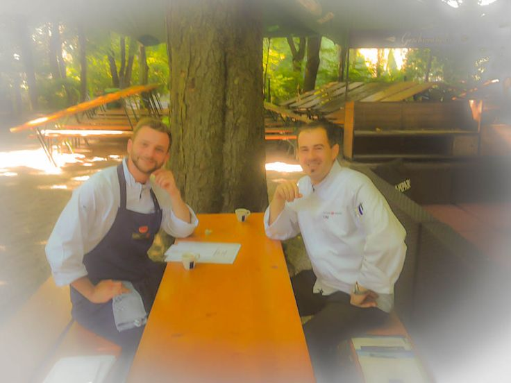 Trend chef meeting Seehaus im Englischen Garten munich
