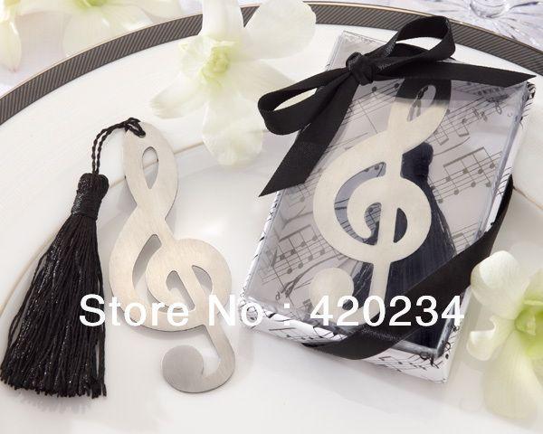 """whousesale  tijdloze duet"""" geborsteld  metalen opengewerkte bladwijzer met elegante zijden kwastje van de bruiloft gunsten/feestartikelen in dansen op je eigen muziek, kunt u vieren het feit dat u en uw bruidegom zal zingen twee- deel harmonie voor de rest van  van Event & Party Supplies op AliExpress.com   Alibaba Groep"""