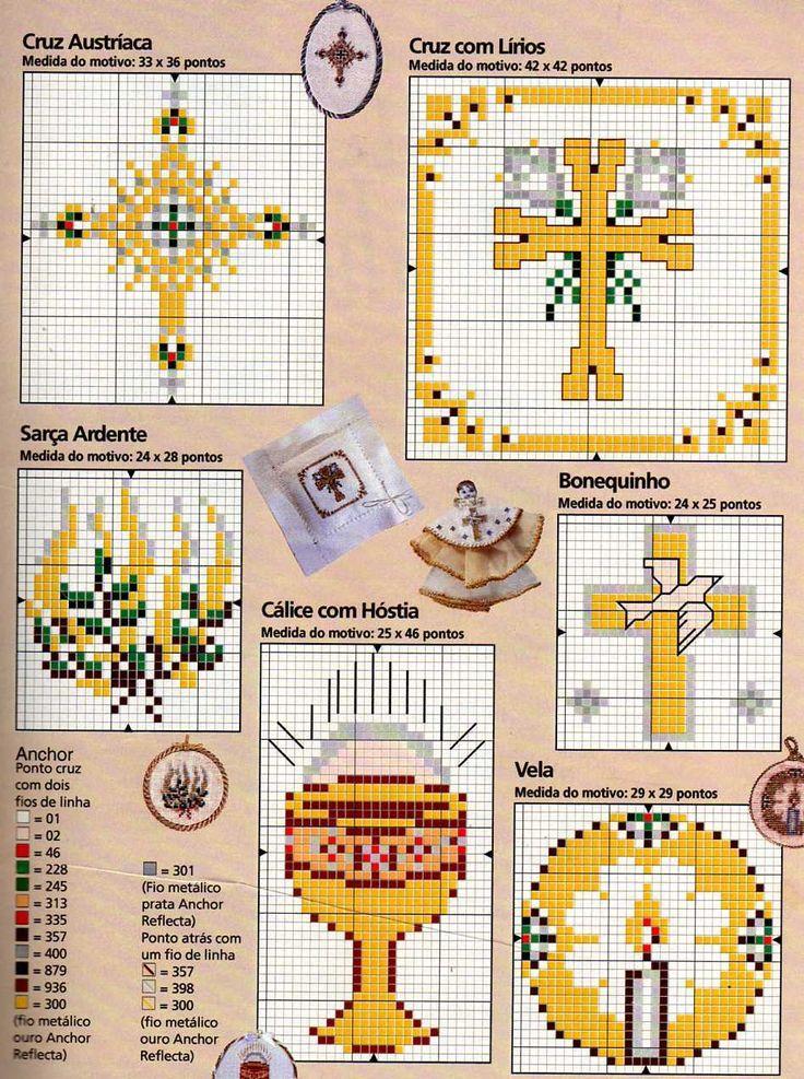 Très 142 best Navidad Punto Cruz images on Pinterest | Embroidery  RL28