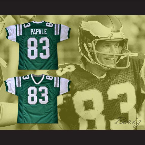 Vince Papale 83 Invincible Movie Football Jersey Mark Wahlberg New Any Size