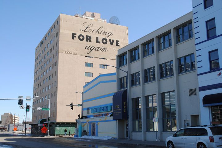 Looking for Love Again - collecting residents' stories and ideas about the Polaris Building to help us better understand the history and forces that have shaped Fairbanks