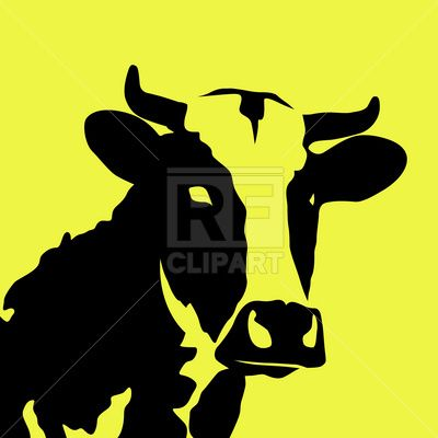 cow silhouette, 1659, download royalty-free vector clipart (EPS)