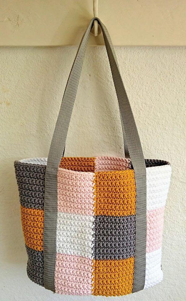 Free Dutch Pattern Bag. Durable Cotton